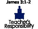 Teacher's Responsibility